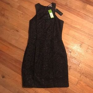 Piperlime Black fitted dress NWT